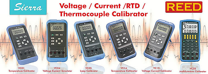 temp calibrator slide